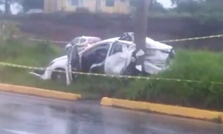 Pierde la vida en accidente a la altura de la Central de Abastos en Xalapa