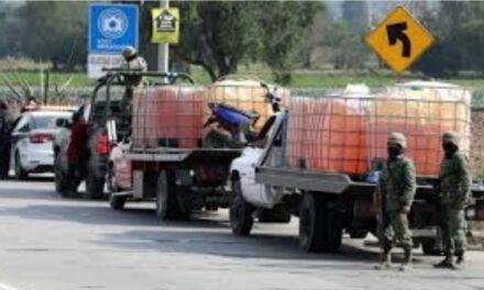 Gracias a lucha contra el huachicol en Hidalgo, Guardia Nacional ha logrado el aseguramiento de 2 millones 862 mil 202 litros de combustible robado