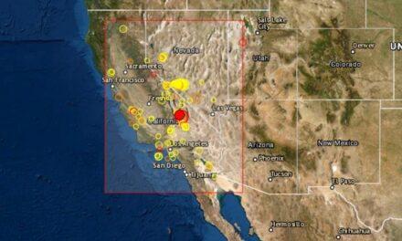 Se registra un sismo de magnitud 5.8 en California