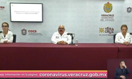 79 municipios de Veracruz continuarán en color Rojo de la semaforización