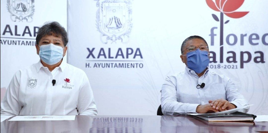 Este domingo en Xalapa, 4 nuevos casos y 3 fallecimientos: Autoridades municipales mandan mensaje a la población.