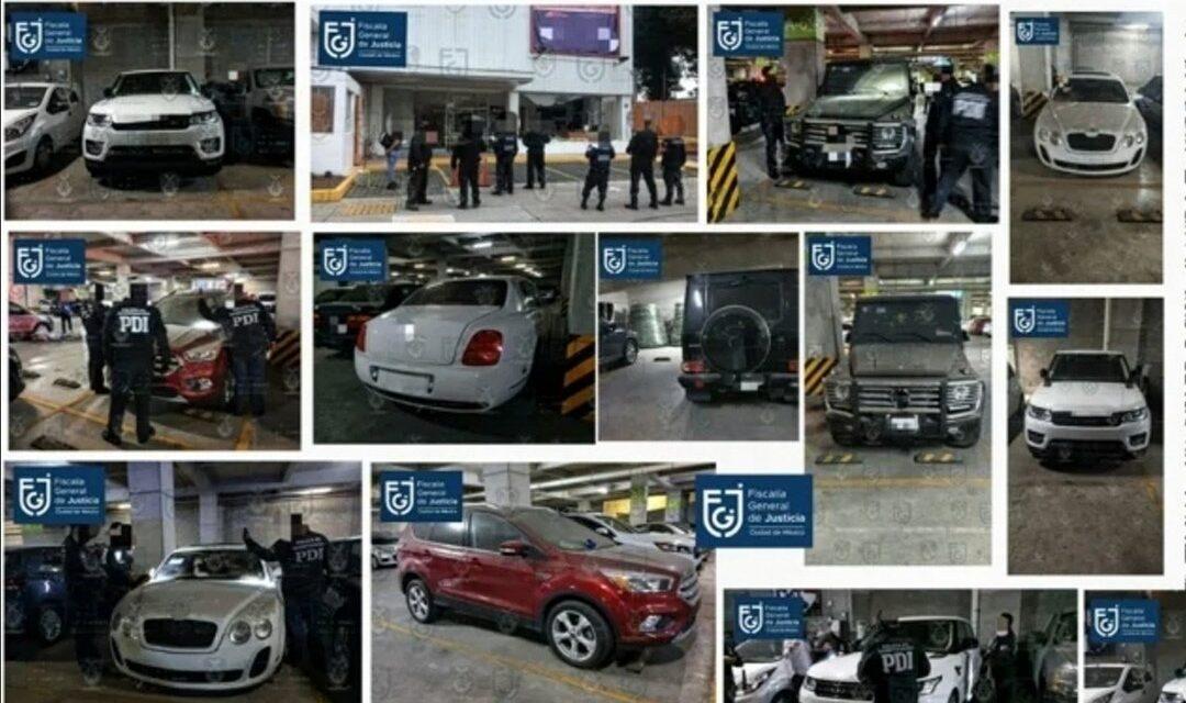 Aseguran autos de lujo de La Unión Tepito, una camioneta había sido robada en Boca del Río