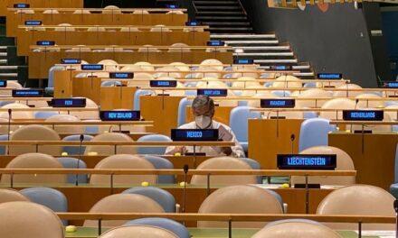 México vuelve al Consejo de Seguridad de la ONU después de 10 años