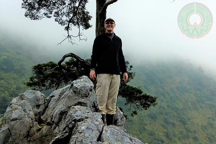 Thorsten Krömer, del Centro de Investigaciones Tropicales de la UV
