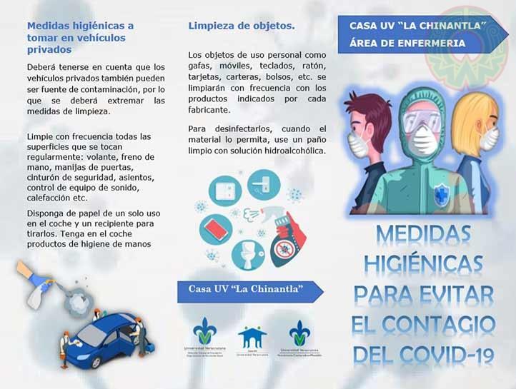 Prestadores de servicio social de las BUSS y Casas UV realizaron material digital informativo