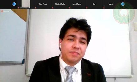 Egresado de Ingeniería de Software presentó examen profesional virtual