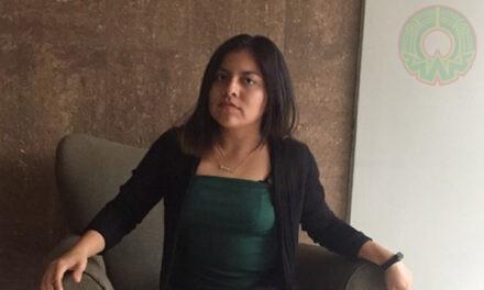 Mi profesión favorece el apoyo comunitario: Sandra Elizerh López