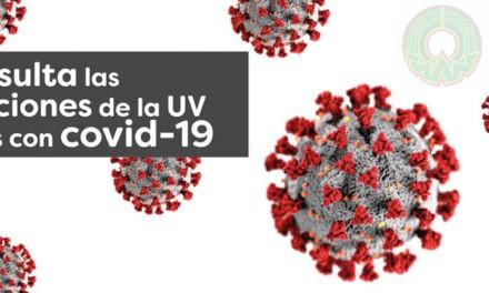 DGI habilitó micrositio Investigación Covid-19 UV