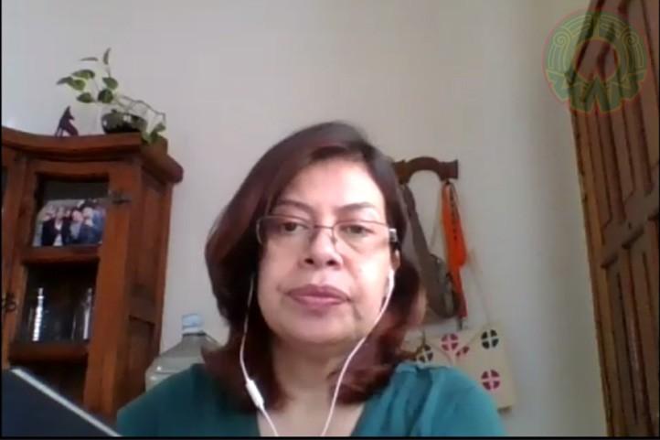 Adriana Cáceres Gómez, analista de Cooperación Internacional