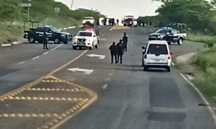 Esta mañana fueron asesinados 5 policías en Jerécuaro, Guanajuato