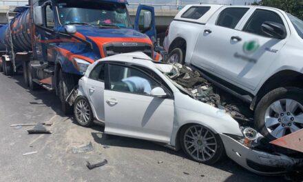Video: Fuerte accidente en la autopista Puebla-Orizaba altura puente de La Resurrección