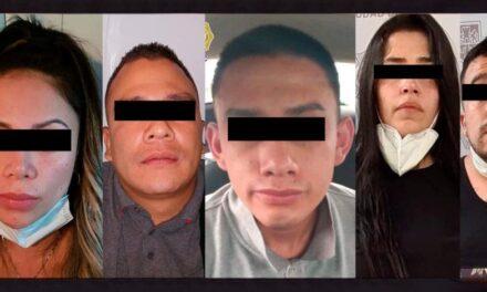 Capturan a 5 colombianos que asaltaban casas en la colonia Linda Vista en la CDMX