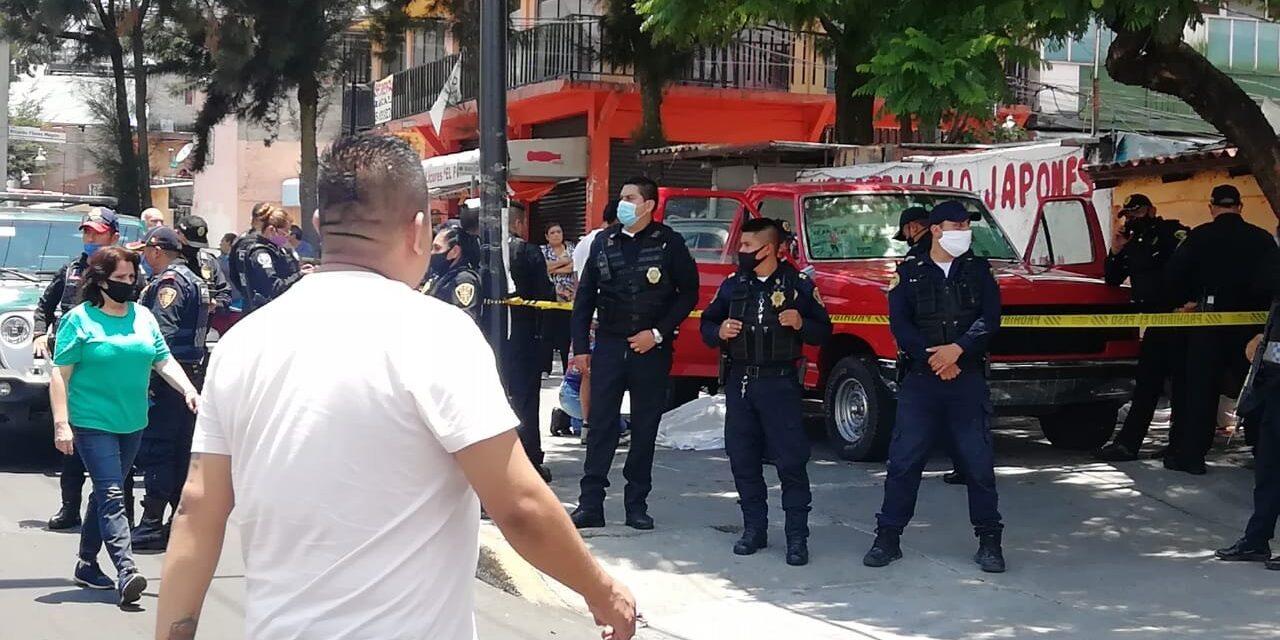 Dos muertos deja balacera en la alcaldía Álvaro Obregón