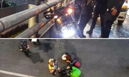 Motociclista Cae Del Segundo Piso Del Periférico