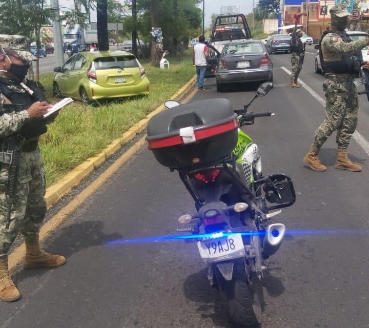 Accidente de tránsito sobre la carretera Xalapa – Veracruz, a la altura de Las Trancas