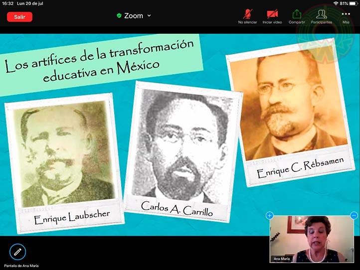 La académica Ana María del Socorro García dictó la conferencia magistral
