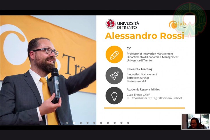 El profesor de la Universidad de Trento, Italia, habló acerca de las estrategias de la economía circular