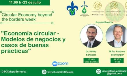 En foro virtual, especialistas explican qué es la economía circular