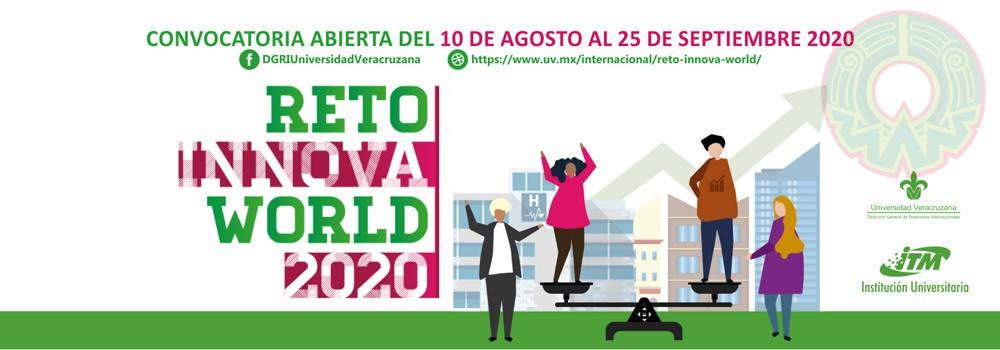 La UV lanzará el 10 de agosto la convocatoria para que estudiantes y académicos participen en el Reto Innova World 2020