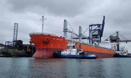 Encuentran cargamento de cocaína en buque mercante de Lázaro Cárdenas Michoacán