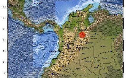 Sismo de magnitud 5,5 se registró en Santander, Colombia