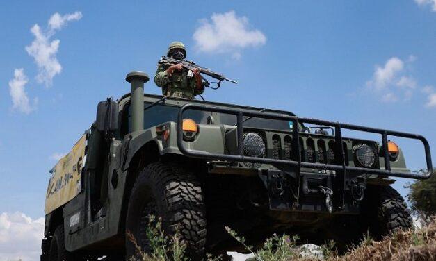 Enfrentamiento entre elementos del ejército Mexicano y personas armadas deja 12 presuntos narcos abatidos