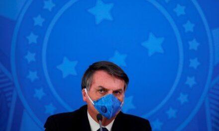 El presidente brasileño Jair Bolsonaro da positivo al test de coronavirus