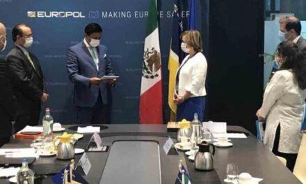México y EUROPOL firman acuerdo de lucha en contra del crimen organizado