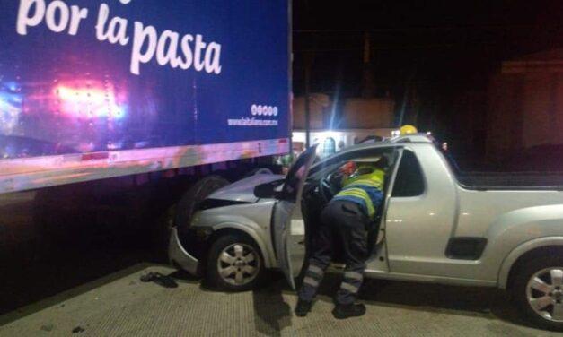 Se registra accidente en la carretera Xalapa – Coatepec, a la altura de La Florida