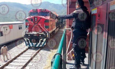 Frustra IPAX robo a tren de Ferrosur, en Acultzingo