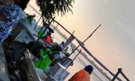 Sanos y salvos fueron localizados durante la madrugada los dos pescadores de Tecolutla.