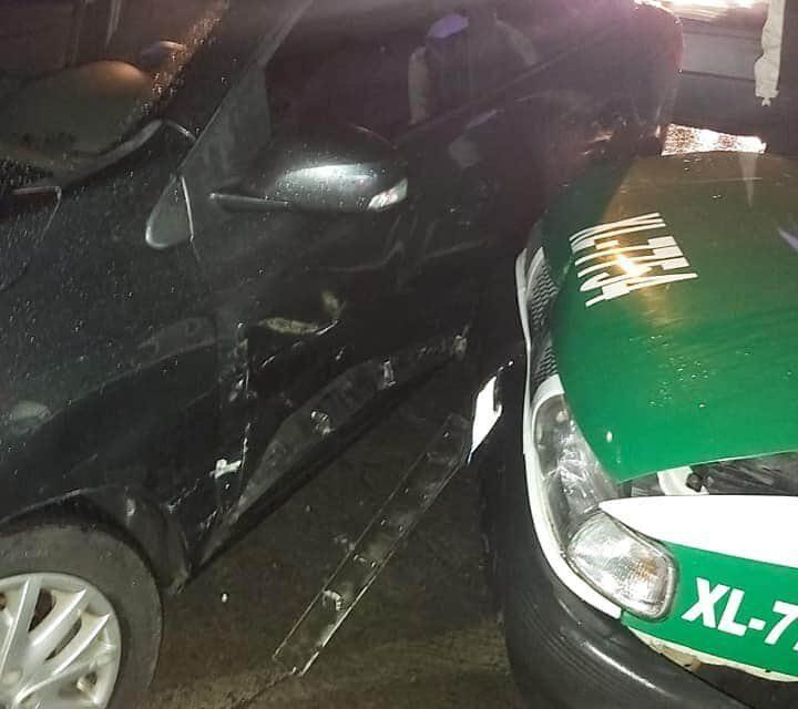 Accidente de tránsito sobre la avenida Pipila en Xalapa