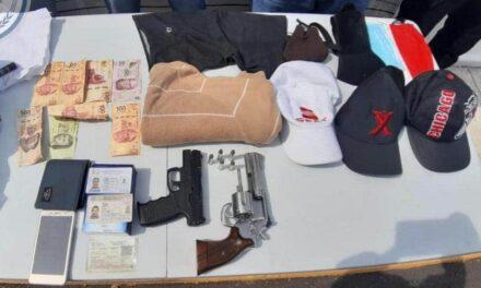 Seguridad Pública decomisa droga y armas de fuego en Medellín, Veracruz y Martínez