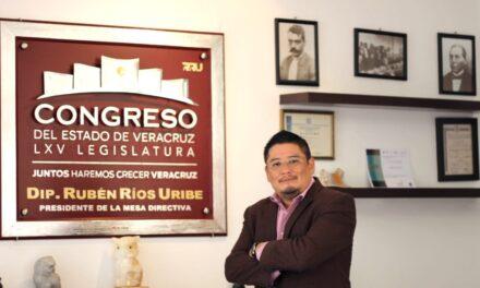 EL PODER DEL PUEBLO  Las arterias de Veracruz: Rubén Ríos Uribe