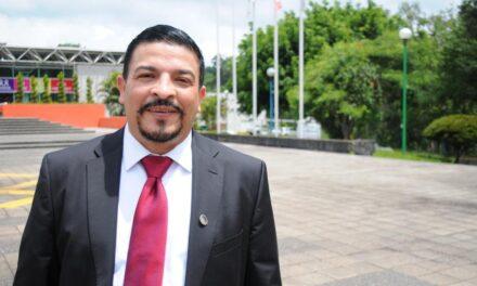 Con Cuitláhuac García, Veracruz cuenta con bienestar y justicia social: Gómez Cazarín