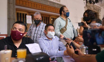 No seremos tapadera de ningún servidor público, alcalde de Córdoba, o de los 212 municipios del estado de Veracruz: Ríos Uribe