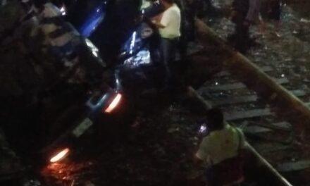 Accidente en el bulevar Xalapa Banderilla, dos personas pierden la vida
