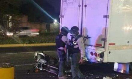 Motociclistas lesionados en accidente sobre la carretera Xalapa – Veracruz, a la altura de Las Trancas