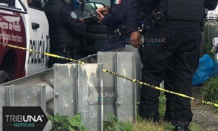 Joven muere atropellado bajo puente en la autopista la Puebla-Orizaba