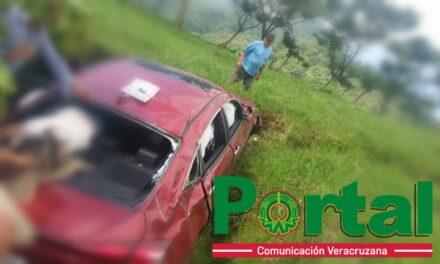 Se accidenta en la carretera a Misantla, es de Coatepec solicitan ayuda para localizar a familiares