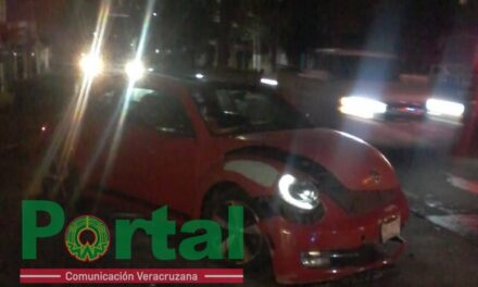 Accidente de tránsito sobre la avenida Américas, minutos antes de las 12 de la noche.