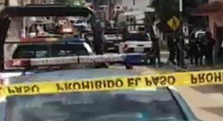 Elementos de SSP detienen a dos sujetos señalados como presuntos responsables del asalto a una joyería del centro de Xalapa