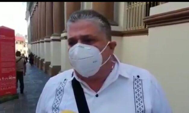 Comerciantes del centro de Xalapa pueden estar tranquilos, ante amenaza de marcha: Hugo Gutiérrez Maldonado