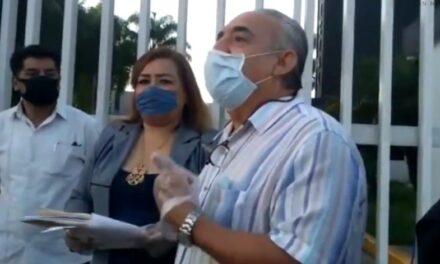 Toman abogados Palacio de Justicia de Córdoba; piden reinicio de actividades