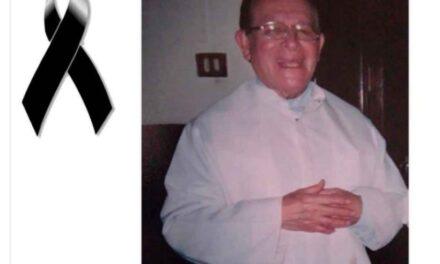 Fallece el padre Vicente Condado; promovió la construcción de la Basílica de Guadalupe en El Dique