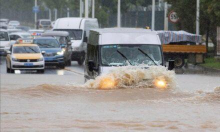 Wuhan elevó su nivel de alerta por las fuertes inundaciones. Se espera que estas lluvias continúen a lo largo de los próximos días en la provincia de Hubei, donde brotó el coronavirus