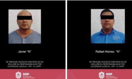 Captura Seguridad Pública a presuntos homicidias, en Coatepec  Coatepec, la colonia Manantiales.
