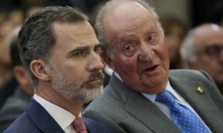 El rey emérito Juan Carlos I se va de España