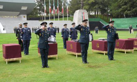 Ceremonia de Graduación de la Escuela Superior de Guerra; mujeres y hombres, formados para ser líderes profesionales en la ciencia y arte militar, en beneficio del desarrollo de México