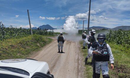 Video: Fuga de gas LP en toma clandestina obliga a desalojar a casi 500 en Acajete, Puebla